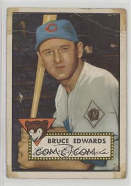 1952 Topps - [Base] #224 - Bruce Edwards [Poor]