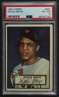 Semi-High # - Willie Mays [PSA 4 VG‑EX]