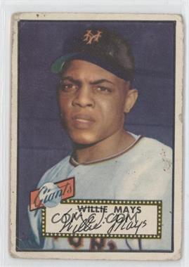 1952 Topps - [Base] #261 - Willie Mays [Good to VG‑EX]