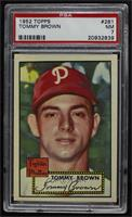Semi-High # - Tommy Brown [PSA7NM]