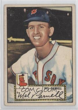 1952 Topps - [Base] #30.1 - Mel Parnell (Red Back) [NonePoortoFair]