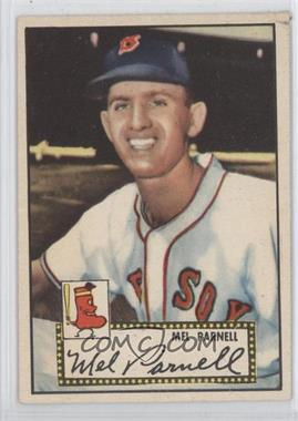 1952 Topps - [Base] #30.1 - Mel Parnell (Red Back)