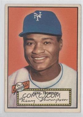 1952 Topps - [Base] #3.1 - Hank Thompson (Red Back)
