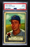 High # - Tony Bartirome [PSA 2 GOOD]