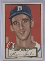 Warren Spahn (Black Back) [Good to VG‑EX]