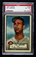 High # - Cal Abrams [PSA 6 EX‑MT]