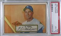 Gil Hodges (Red Back) [PSA 4 VG‑EX]