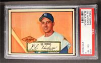 Gil Hodges (Black Back) [PSA 6]