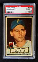 High # - Dick Groat [PSA 2.5 GOOD+]