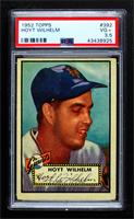 High # - Hoyt Wilhelm [PSA 3.5 VG+]