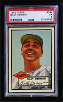 High # - Billy Herman [PSA 5 EX]