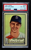 High # - Dick Williams [PSA 4.5 VG‑EX+]