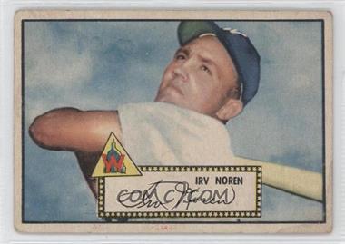 1952 Topps - [Base] #40.1 - Irv Noren (Red Back)