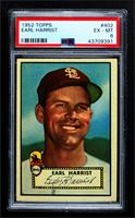 High # - Earl Harrist [PSA 6 EX‑MT]