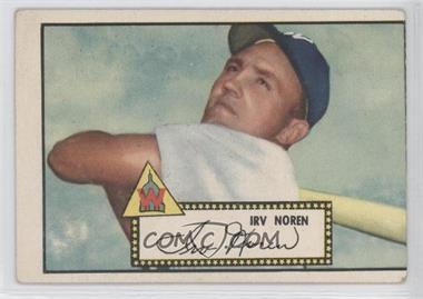 1952 Topps - [Base] #40.2 - Irv Noren (Black Back)