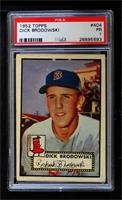 High # - Dick Brodowski [PSA 1 PR]