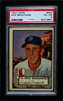 High # - Dick Brodowski [PSA 4 VG‑EX]