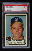 Eddie Mathews [PSA 3.5 VG+]
