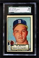 Eddie Mathews [SGC 30 GOOD 2]