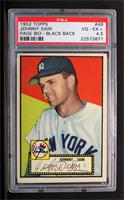 Johnny Sain (Black Back, Bio (Joe Page) Begins with The Ace) [PSA 4.5 …
