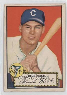 1952 Topps - [Base] #62.1 - Chuck Stobbs (Red Back)