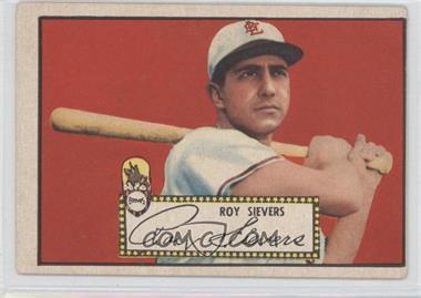 1952 Topps - [Base] #64.1 - Roy Sievers (Red Back) [GoodtoVG‑EX]