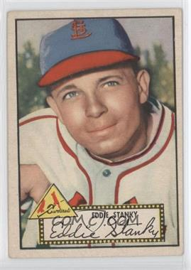 1952 Topps - [Base] #76.1 - Eddie Stanky (Red Back)