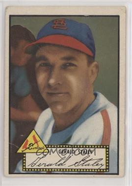 1952 Topps - [Base] #79.2 - Jerry Staley (Black Back) [PoortoFair]