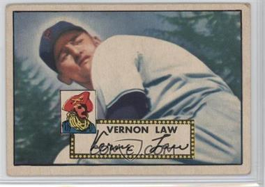 1952 Topps - [Base] #81 - Vern Law [Good to VG‑EX]