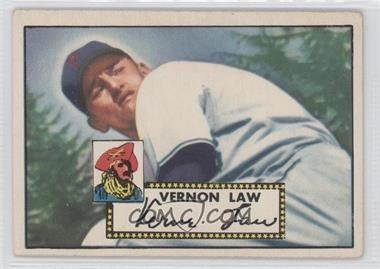 1952 Topps - [Base] #81 - Vern Law [GoodtoVG‑EX]