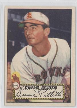 1952 Topps - [Base] #82 - Duane Pillette