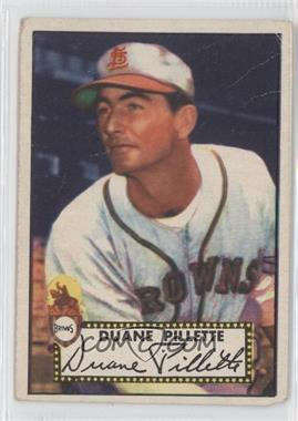 1952 Topps - [Base] #82 - Duane Pillette [GoodtoVG‑EX]