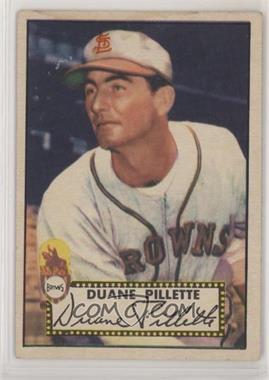 1952 Topps - [Base] #82 - Duane Pillette [NoneGoodtoVG‑EX]