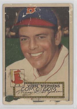 1952 Topps - [Base] #84 - Vern Stephens [Poor]