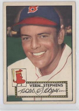 1952 Topps - [Base] #84 - Vern Stephens [GoodtoVG‑EX]
