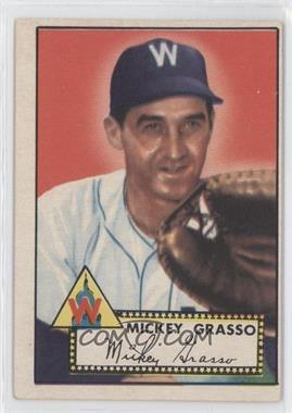1952 Topps - [Base] #90 - Mickey Grasso