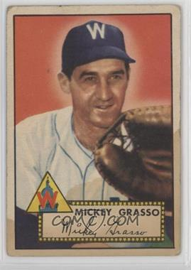 1952 Topps - [Base] #90 - Mickey Grasso [Poor to Fair]