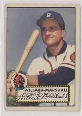 1952 Topps - [Base] #96 - Willard Marshall [GoodtoVG‑EX]
