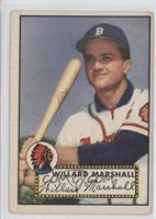 Willard Marshall [NoneGoodtoVG‑EX]
