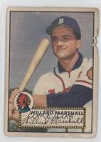 Willard Marshall [Poor]