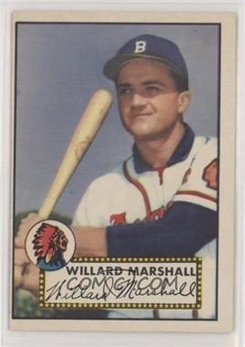 1952 Topps - [Base] #96 - Willard Marshall