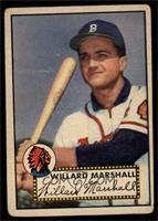 Willard Marshall [VG]