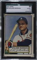 Willard Marshall [SGC 55 VG/EX+ 4.5]