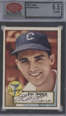 1952 Topps - [Base] #98 - Billy Pierce [Encased]