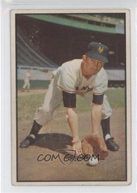 1953 Bowman Color - [Base] #1 - Davey Williams