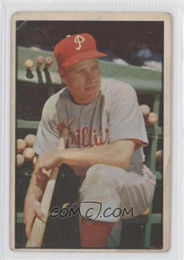 1953 Bowman Color - [Base] #10 - Richie Ashburn [Good to VG‑EX]