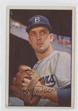 1953 Bowman Color - [Base] #12 - Carl Erskine