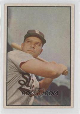 1953 Bowman Color - [Base] #2 - Vic Wertz