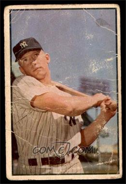 1953 Bowman Color - [Base] #59 - Mickey Mantle [POOR]