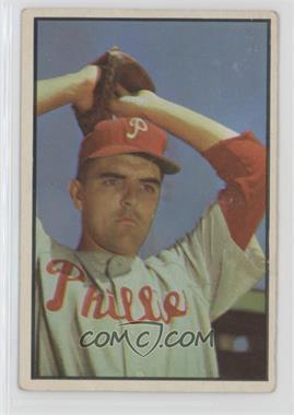 1953 Bowman Color - [Base] #64 - Curt Simmons [GoodtoVG‑EX]